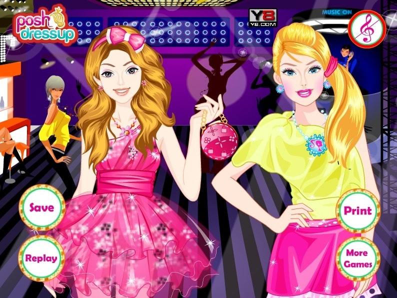 Вечеринка Элли и Барби