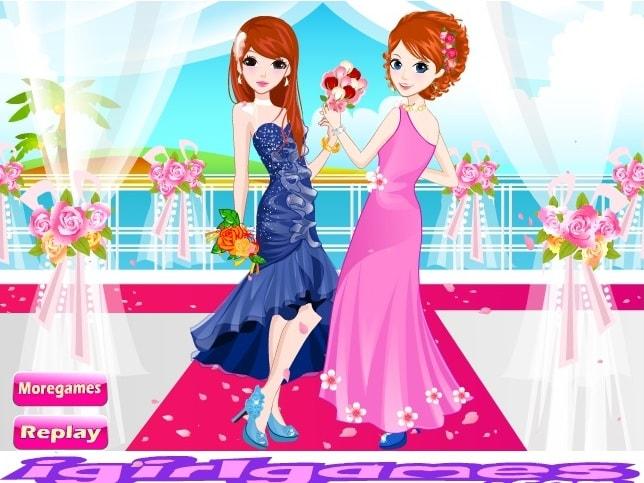 Прекрасные подружки невесты