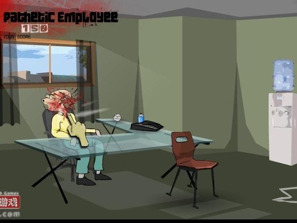 Псих в офисе 3