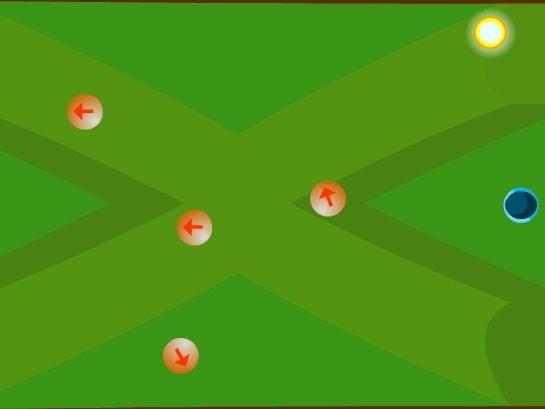 Мячи со стрелками