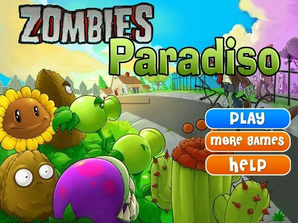 Plants vs Zombies Paradiso