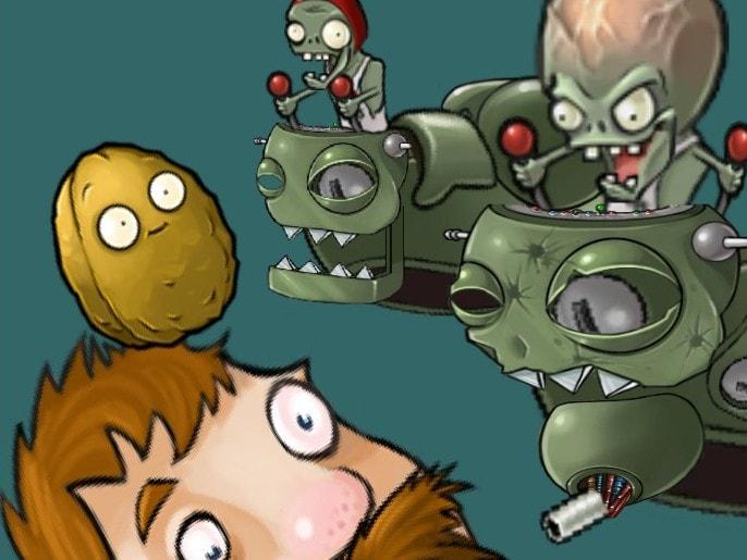 Безумный дейв против зомби