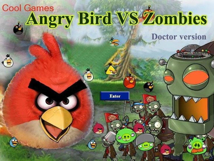 Angry Birds и Растения против зомби 2