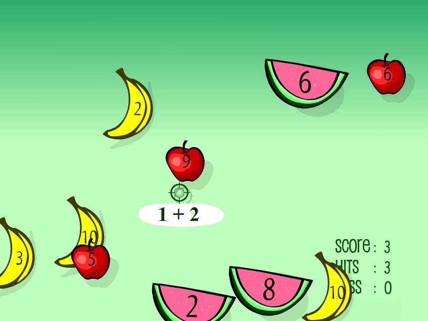 Прибавление фруктов