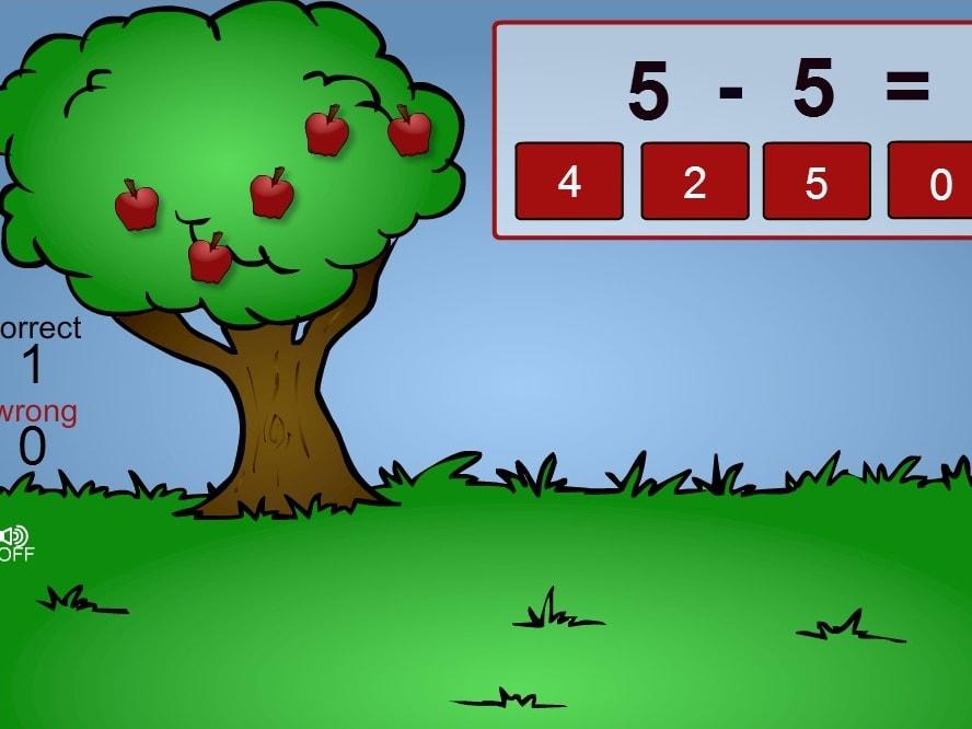 Вычти урожай яблок
