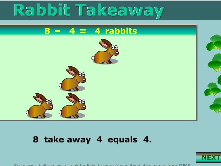 Вычитание кроликов
