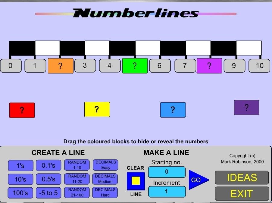 Нумерованные линии 3