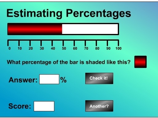 Вычисление процента