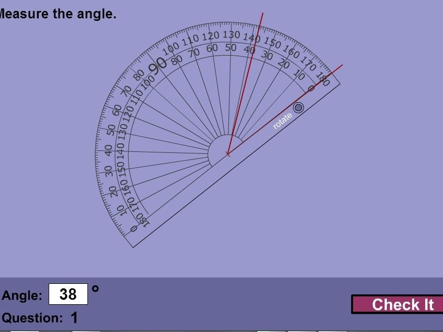 Измерения углов