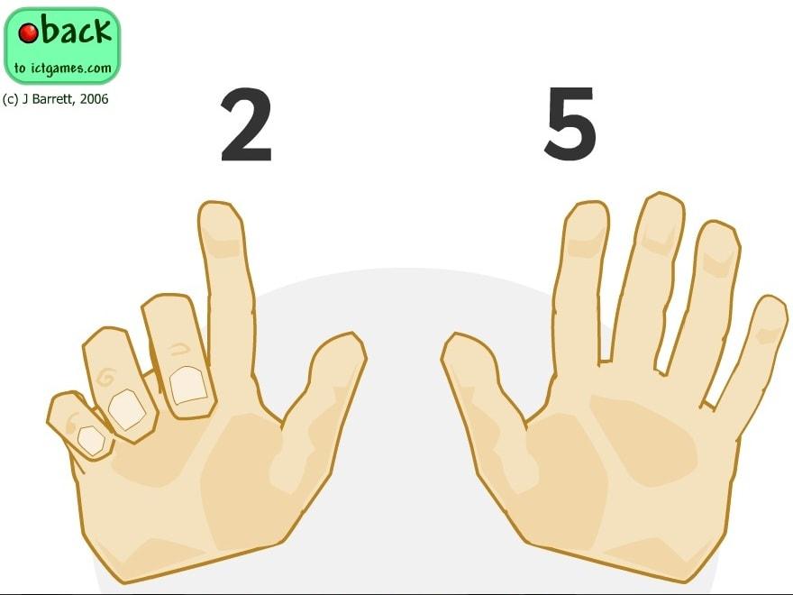 Подсчет пальчиков