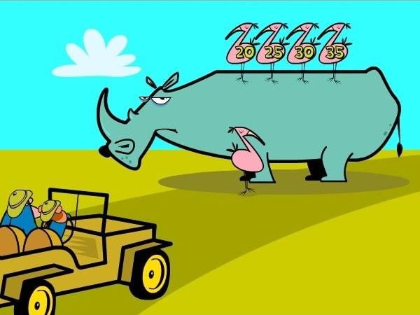 Носорог всадник