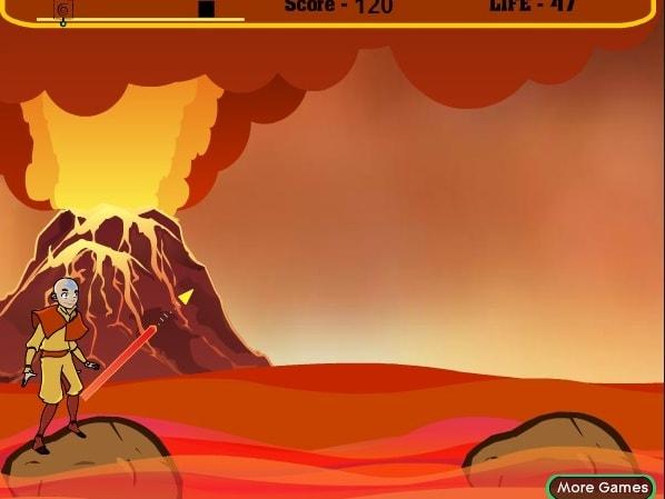 Аватар через вулкан