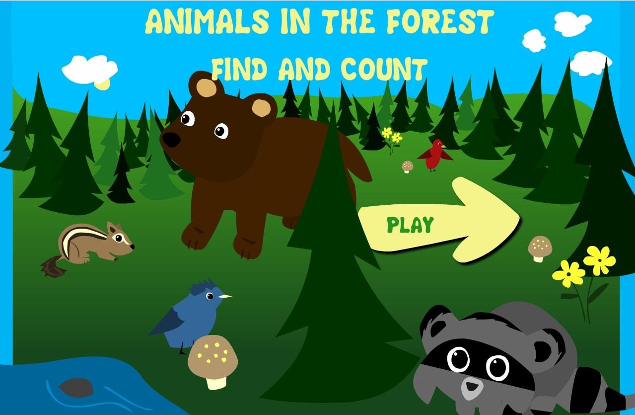 Лесные звери. Счёт