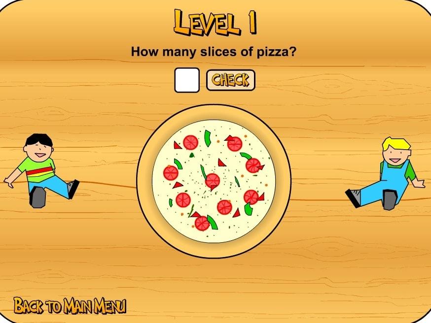 Дроби Пицца