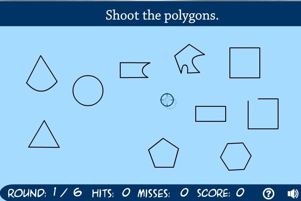 Полигон для стрельб по фигурам