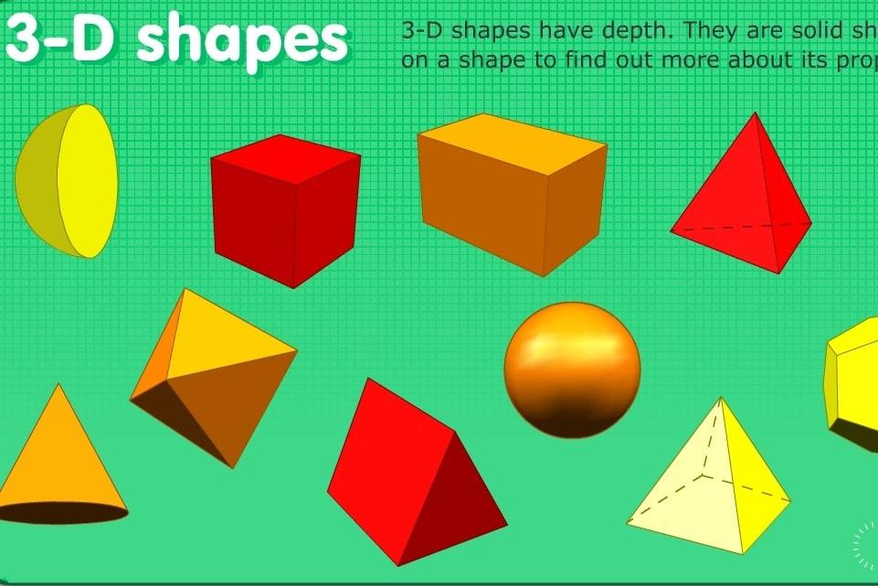 Геометрия 3-D фигуры