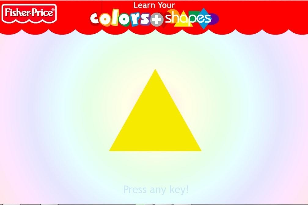Цветные геометрические фигуры