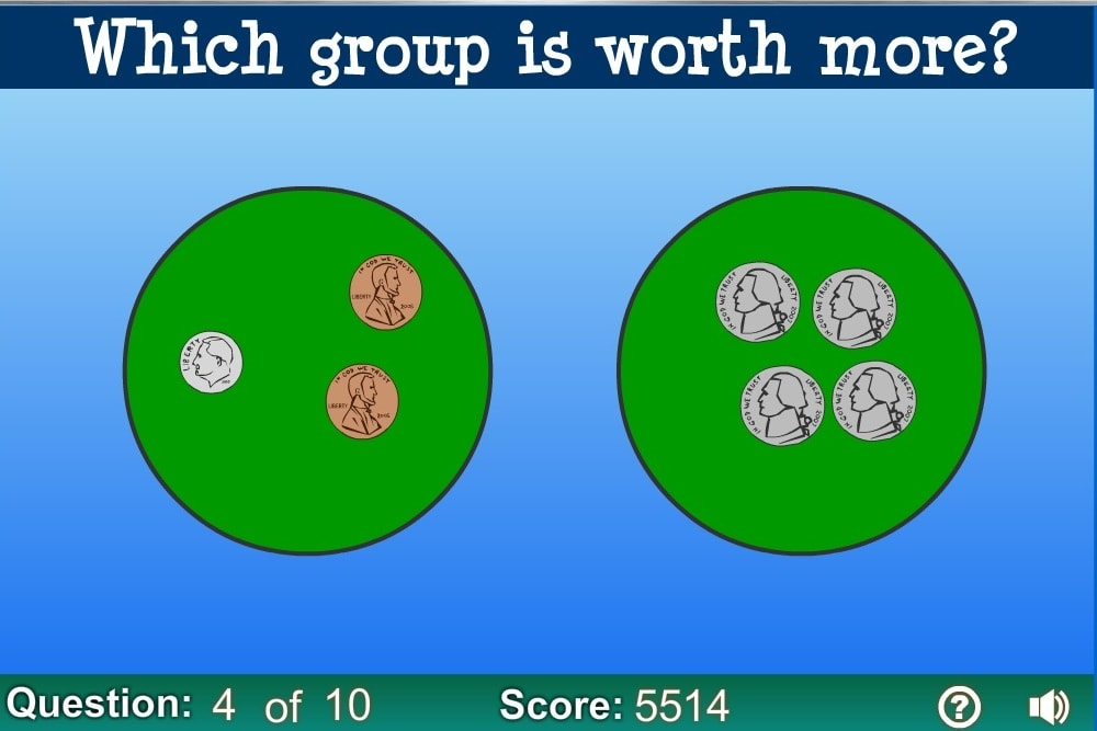 Где больше ценность монет