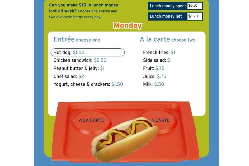 Стоимость обеда
