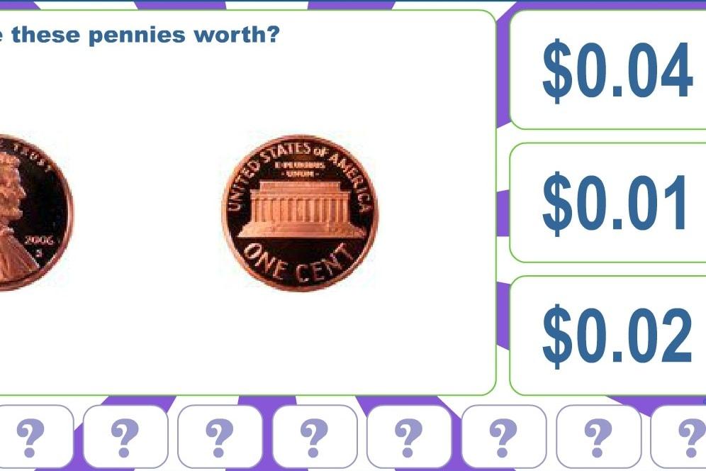Количество пенни