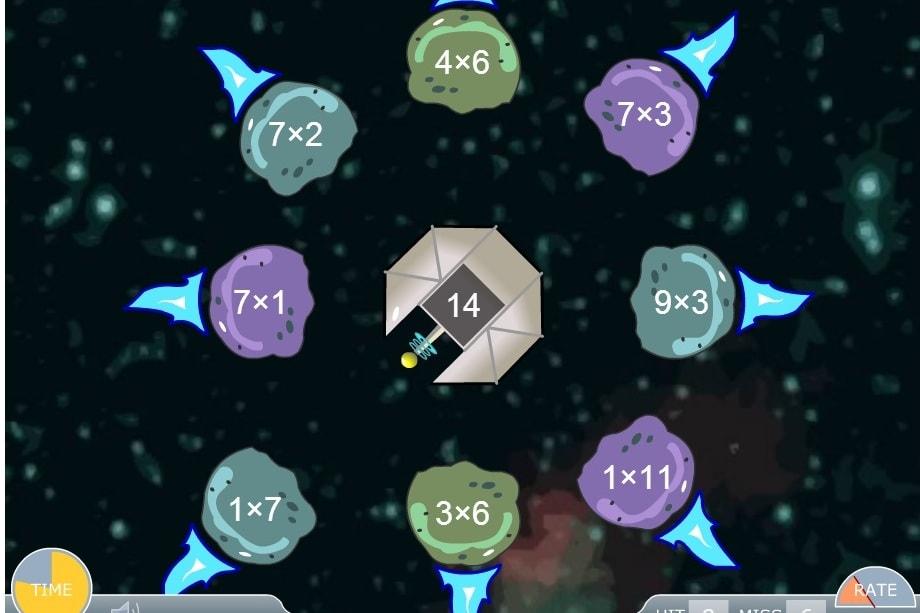 Умножение Сбей метеорит