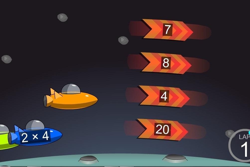 Умножение космические гонки