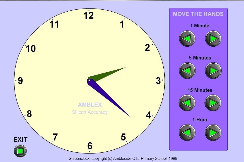 Выставь время сам