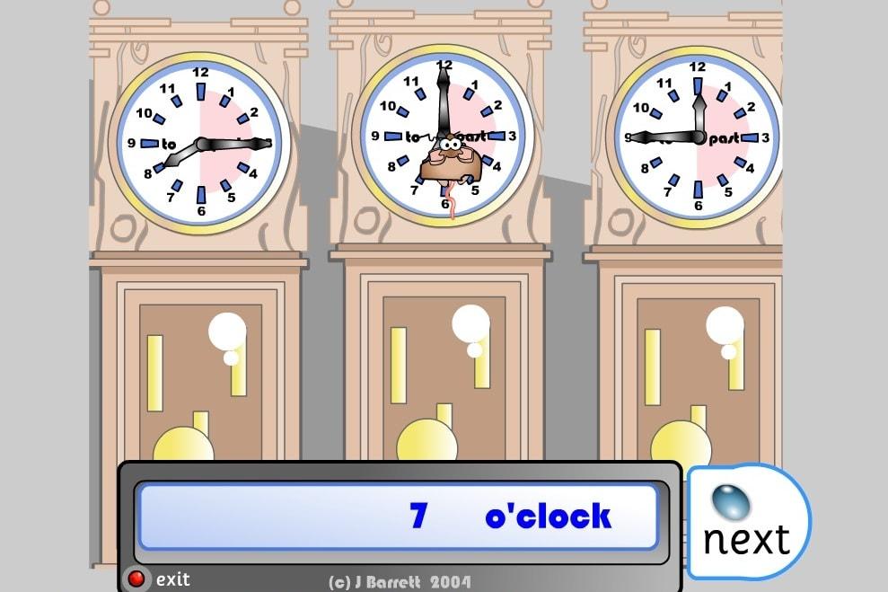 Мышка определяет время