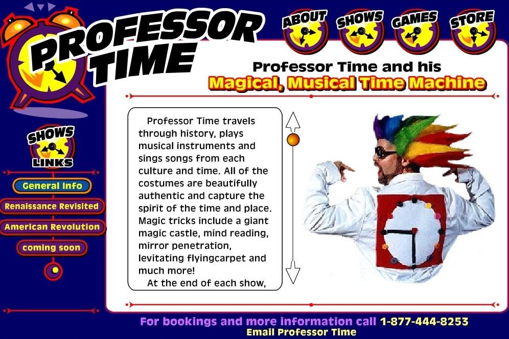 Профессор времени