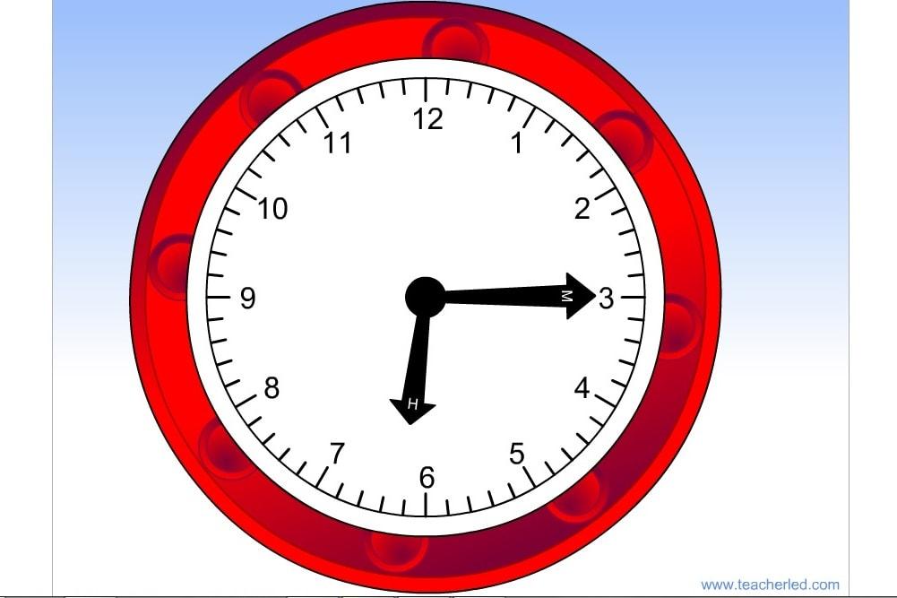 Простые часы