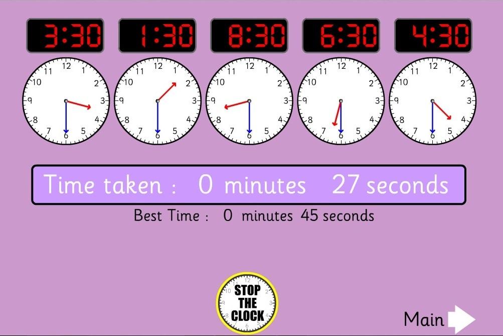 Остановить часы