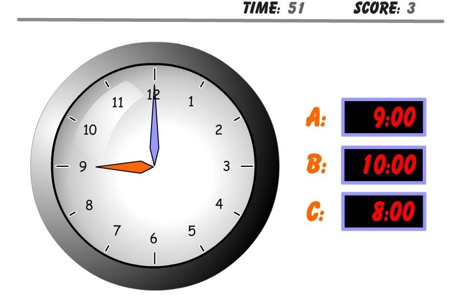 Часы тест