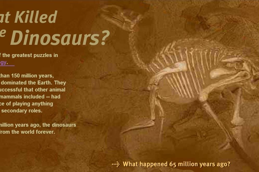 Что убило динозавров