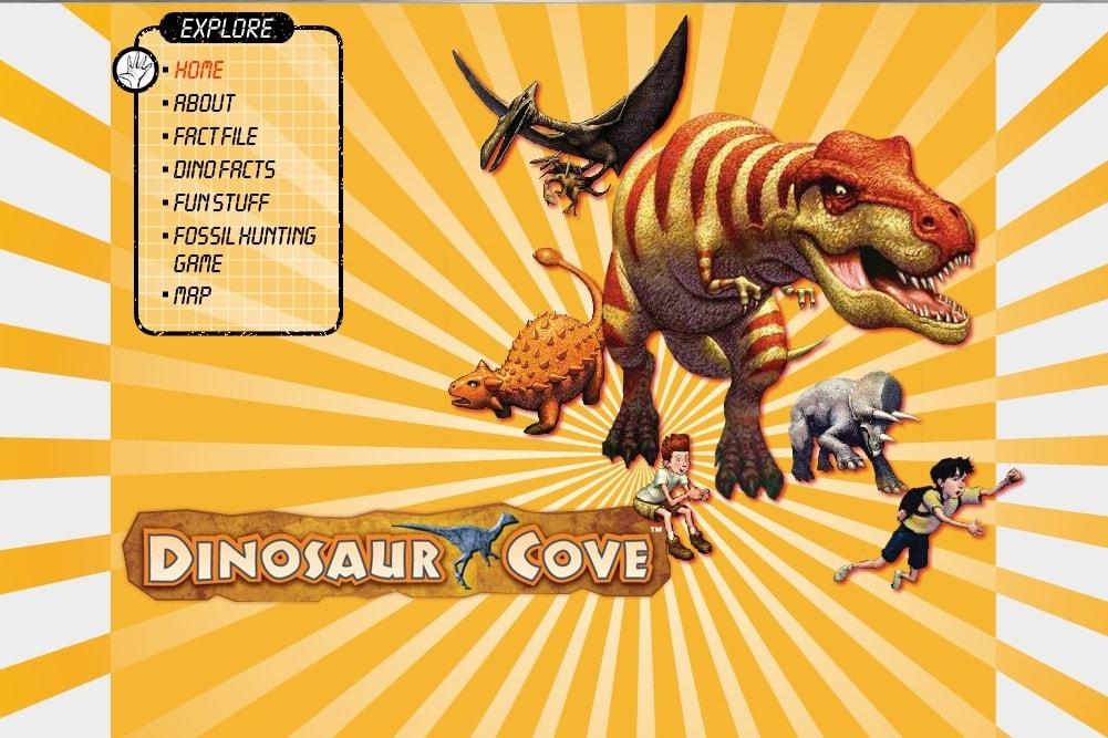 Поиск динозавров в бухте