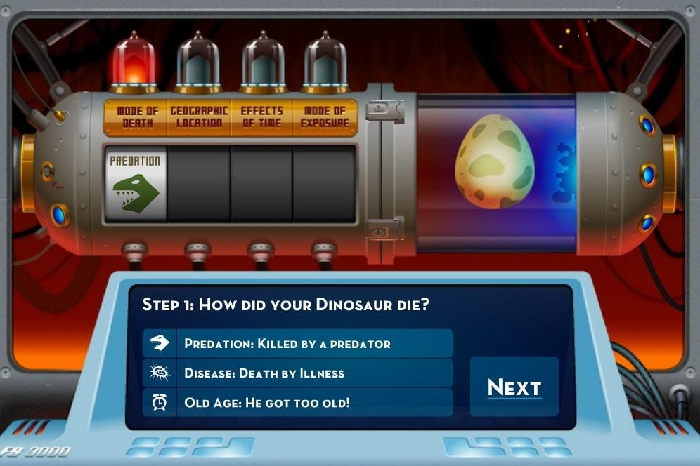 Мастер ископаемых динозавров