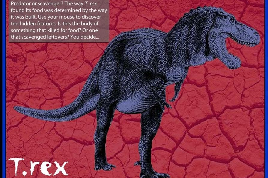 T Rex-викторина убийственный вопрос