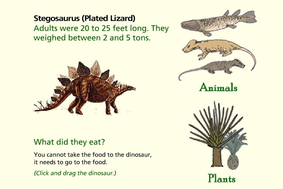 Что ели динозавры