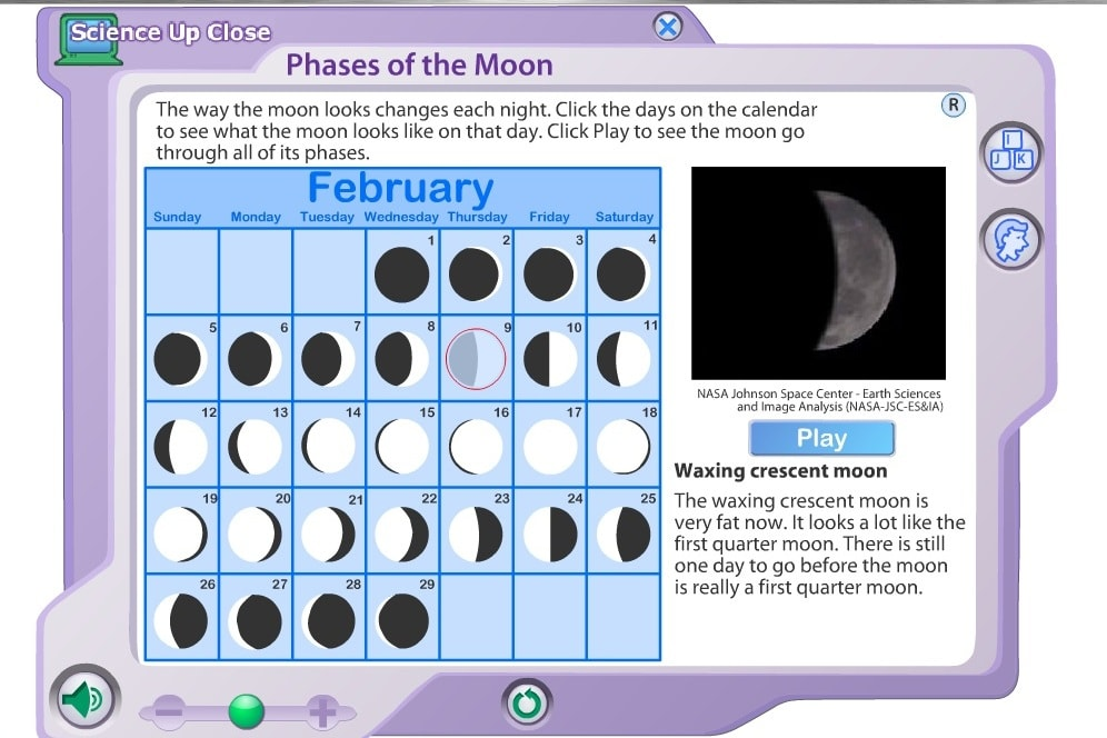 Лунные фазы