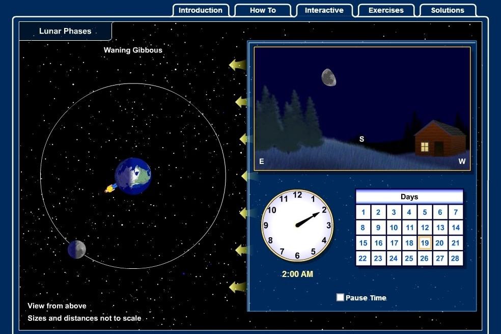 Лунная навигация