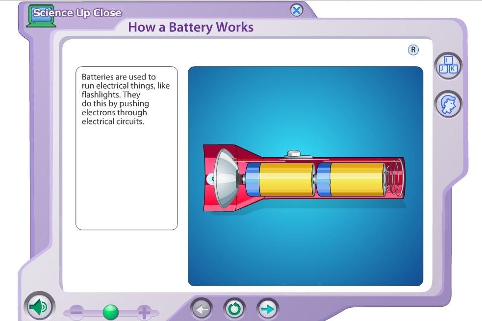 Энергия в батарейках
