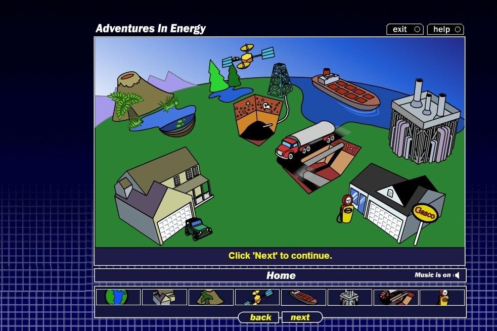 Приключения энергии