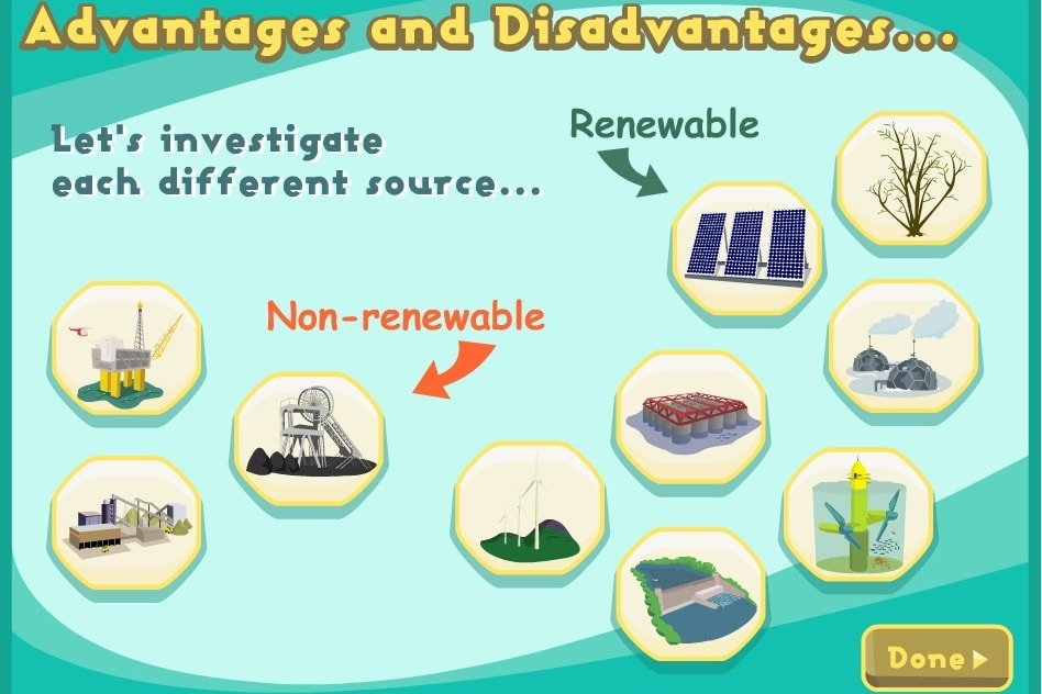 Преимущества источников энергии