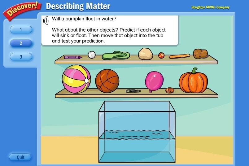 Какие материалы плавают, а какие тонут