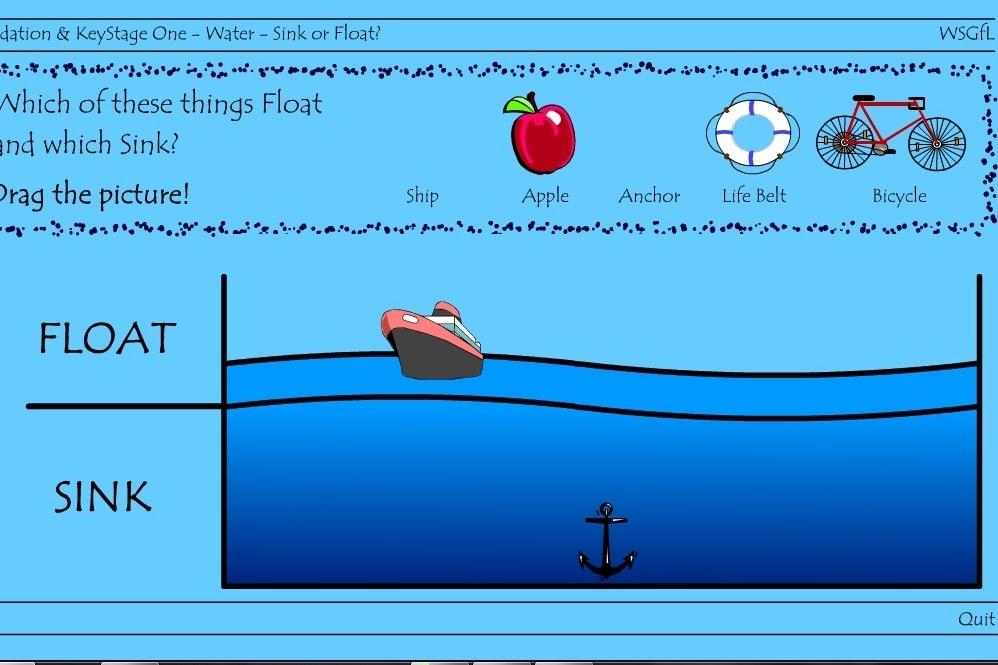 Что плавает а что тонет