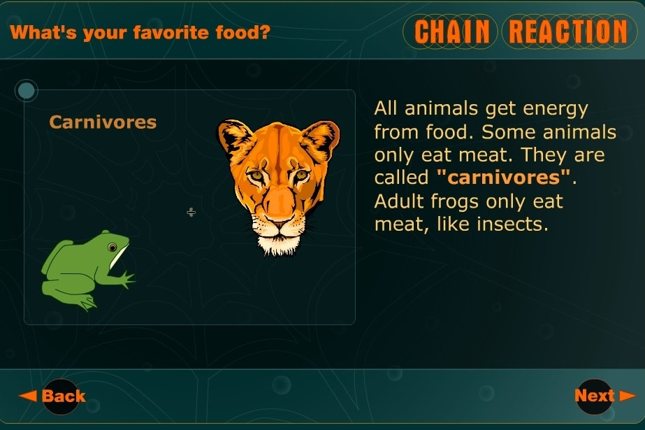 Животные цепная реакция