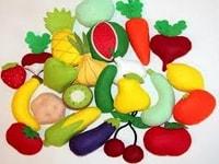 Паровозик овощей и фруктов