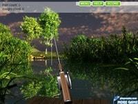 Рыбалка в озере