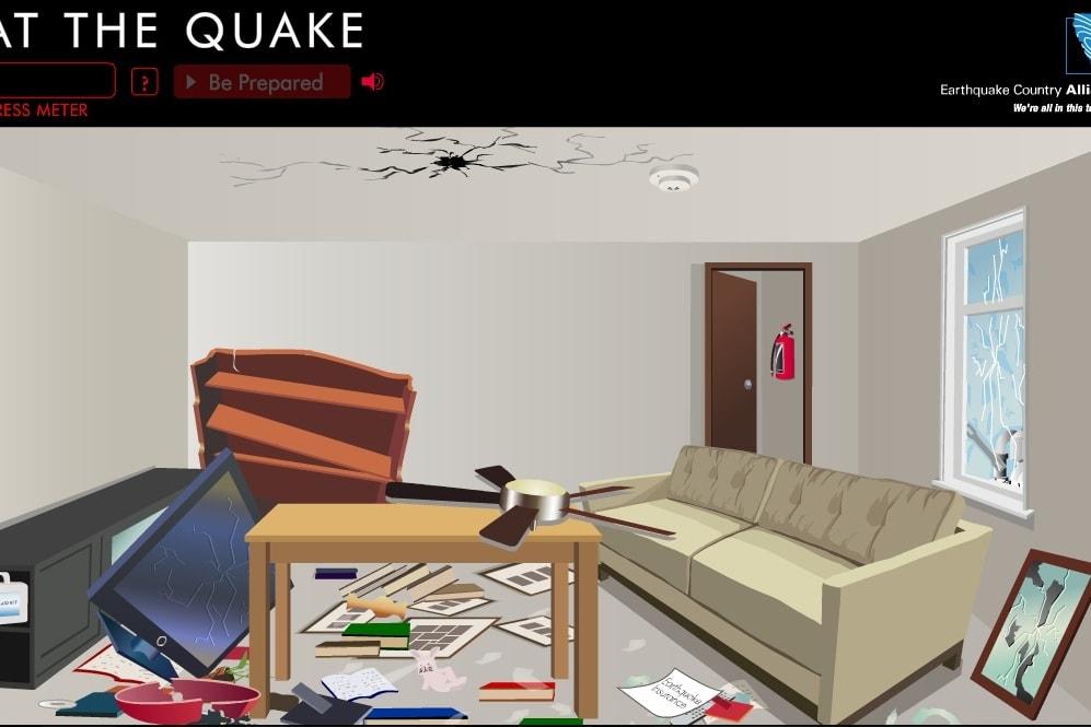 Последствия после землетрясения