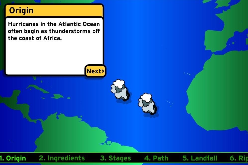 Как образуются ураганы