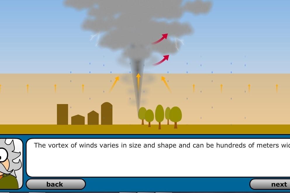 Образование торнадо